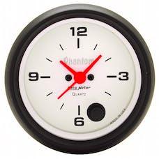 AutoMeter Products 5885 Gauge; Clock; 2 5/8in.; 12Hr; Analog; Phantom
