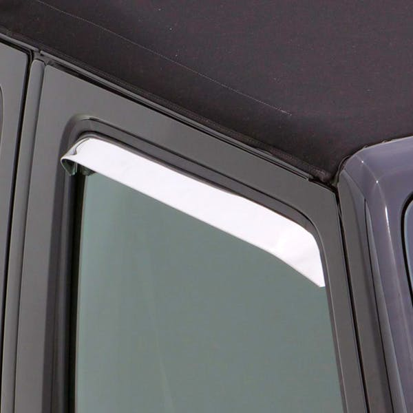AVS 12091 Ventshade Deflector - 2 Pc Set Stainless