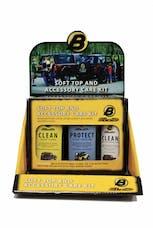 Bestop 11204-00 Cleaner/Protectant Merchandiser Display