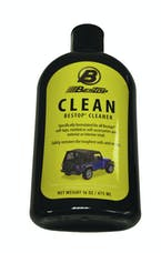 Bestop 11211-00 Cleaner One 16-oz. bottle (boxed); Do not use on vinyl windows