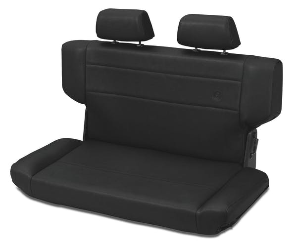 Bestop 39435-01 Trailmax II Fold-N-Tumble Rear Bench Seat