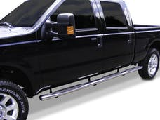 "Big Country Truck Accessories 3943276 4"" + 15 Degree Wheel-to-Wheel Side Bars"
