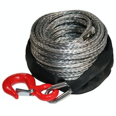 Bulldog Winch 20082 Synthetic Rope 8mm x 100ft, up to 8k Winch