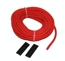 "Bulldog Winch 20139 Wire Sheathing, high heat fiberglass 5mm x 25ft (3/16"") red"