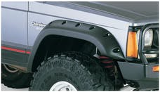 Bushwacker 10035-07 Cut-Out Fender Flare - Front Pair - OE Matte Black