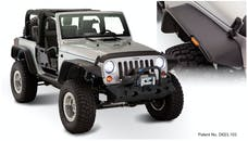 Bushwacker 10919-07 FF Jeep Flat Style 4pc