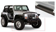 Bushwacker 14011 Jeep Trail Armor Rocker Panel & Sill Plate - Pair - OE Matte Black