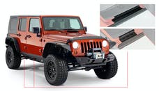 Bushwacker 14012 Jeep Trail Armor Rocker Panel & Sill Plate - Pair - OE Matte Black