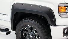 Bushwacker 40121-02 Pocket Style Fender Flare - Front Pair - OE Matte Black