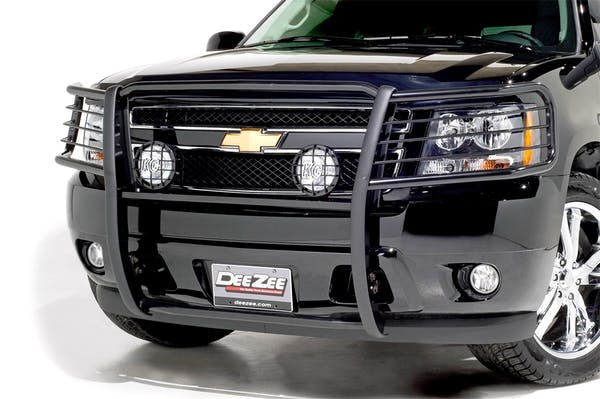 Dee Zee DZ500115 Grill Guard Euro Black Steel