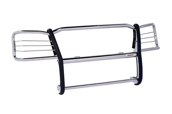 Dee Zee DZ501514 Grill guard-Euro Stainless Polished
