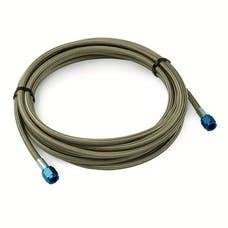 DEI 080205 Stainless Steel Braided Hose - 3ft. -4AN f and 1/8 NPT m