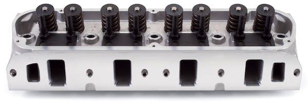Edelbrock 5025 E-Street Cylinder Head Complete Pair