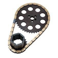 Edelbrock 7343 Hex-A-Just True Roller Timing Set