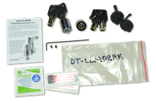 Fastway DT-LBM02RK Flash 2 Pack Rekey Kit for LBM & ALBM (2 Cylinders, 4 Keys, Tool & Covers)