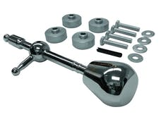 Fidanza 891811 Short Throw Shifter; Up to 40% Reduction of Gear Throw; Offers a Sportier Feel