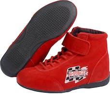 G-FORCE Racing Gear 0235030RD GF235 MIDTOP SHOE SFI 3.3/5 3 RED