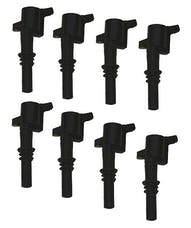 Granatelli Motorsports 21-3001 4.6/5.4L 3V OEM Coil Pack Replacements, Black (set of 8), Ford