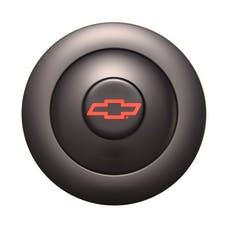GT Performance 21-1162 GT9 Horn Button Large Blk Color Chevy