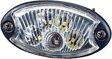 Hella Inc 343570011 LAMP INT 3570 MINIOVAL G WHT RED 12V