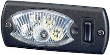 Hella Inc 343570051 LAMP INT 3570 MINIOVAL G SW WHT  RED 12V