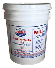 "Lucas Oil 10027 Red ""N"" Tacky Grease NLGI#2"