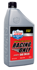 Lucas Oil 10291 Synthetic SAE 0W-20 Racing Oil