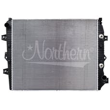Northern Radiator CR13244 Plastic Tank Radiator - 33 3/8 X 27 7/8 X 1 7/8 Core