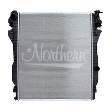 Northern Radiator CR13296 Plastic Tank Radiator - 26 5/8 X 32 1/4 X 1 1/2 Core
