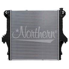 Northern Radiator CR2711 Plastic Tank Radiator - 27 X 29 1/4 X 1 5/8 Core