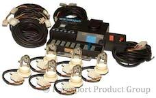 Race Sport Lighting RS-RTE-246-A 6-Bulb 120W Strobe Kit (Amber)