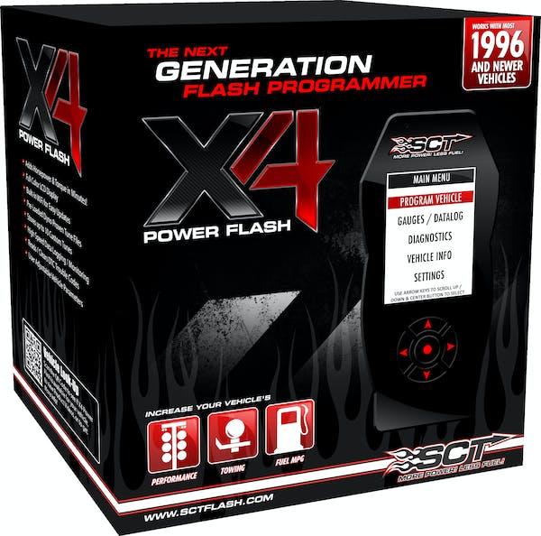 SCT 7015 - X4 Power Flash Programmer, Pre-Loaded
