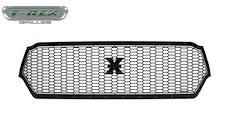 T-Rex Grilles 7714651-BR Stealth Laser X Grille, Black, Mild Steel, 1 Pc, Replacement