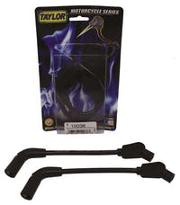 Taylor Cable Products 10038 8mm Spiro-Pro black 8in custom MC 135