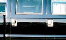 TFP 441 Truck & SUV Door Handle Insert Stainless Steel Chrome Finish