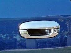 TFP 494KE Car Door Handle Insert Stainless Steel Chrome Finish