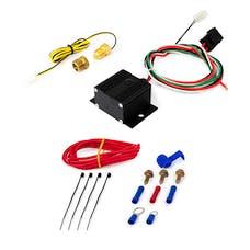 Top Street Performance HC7110BK Adjustable Electric Fan Controller Wiring Harness Kit, Black