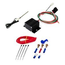 Top Street Performance HC7111BK Adjustable Electric Fan Controller Wiring Harness Kit, Black