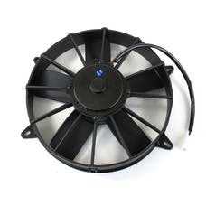 """Top Street Performance HC7211 11"""" Proflow Universal Electric Cooling Fan, Straight Blade, Puller, 1,400 CFM"""