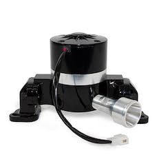Top Street Performance HC8030BK Aluminum Electric Water Pump Include Backplate, Black
