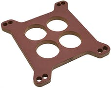 """Trans Dapt Performance 2446 3/8"""" HOLLEY/AFB 4BBL SPACER - Ported- Canvas Phenolic Carburetor Spacer"""