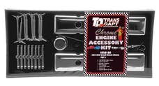 "Trans Dapt Performance 3041 ""O.E.M. STYLE"" Engine Kit; SHORT Valve Covers; 58-86 CHEVROLET 283-350-CHROME"