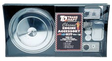 "Trans Dapt Performance 3102 ""CHEVY TRUCK"" Engine Kit;SINGLE BOLT Air Cleaner; 88-92 GM TRUCK 5.0/5.7L-CHROME"