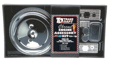 "Trans Dapt Performance 3103 ""CHEVY TRUCK"" Engine Kit; DUAL BOLT Air Cleaner; 92-95 GM TRUCK 5.0/5.7L-CHROME"