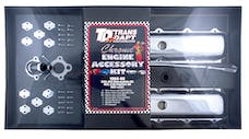 Trans Dapt Performance 3391 OLDS and PONTIAC Engine Kit; OFFSET PCV; OLDS 330-455 and PONTIAC 403-CHROME