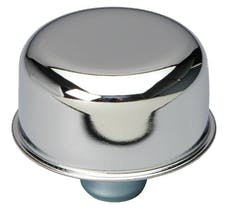 """Trans Dapt Performance 4870 2-3/4"""" Diameter """"PUSH-IN"""" Style Breather Cap Only (without Grommet)-CHROME"""