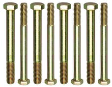 """Trans Dapt Performance 4897 ENGINE STAND BOLTS; 3/8""""-16 x 4"""" and 7/16""""-14 x 4"""" (4 each)-UNIVERSAL Fit"""