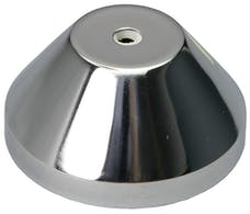 Trans Dapt Performance 4973 Vacuum Advance Cover-CHROME