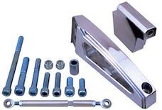 Trans Dapt Performance 7881 Air Cond/Alternator Bracket Set;65-68 BB Chevy(short water pump)-Billet Aluminum
