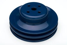 Trans Dapt Performance 8313 WATER PUMP Pulley; 2 Groove; 1965-1966 FORD 289; O.E. Water Pump- FORD BLUE